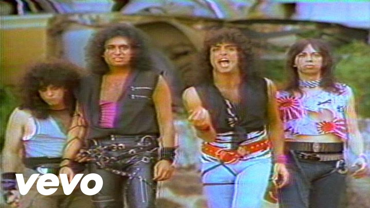 Kiss - Lick It Up - YouTube